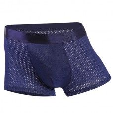 Ice Silk Mesh Breathable U Convex Smooth Soft Boxers Briefs for Men